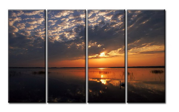 Modern Oil Paintings on canvas seascape painting -set08023