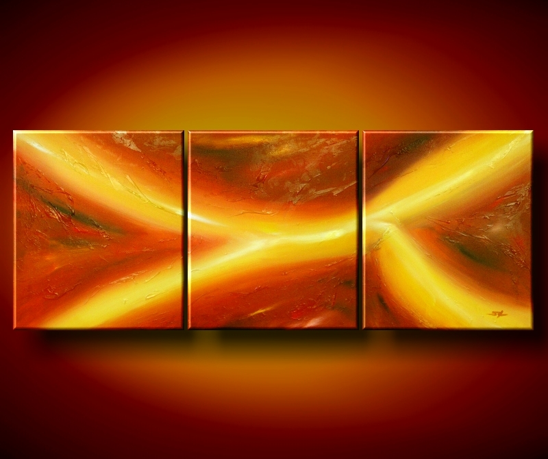 Modern Oil Paintings on canvas abstract painting -set08098