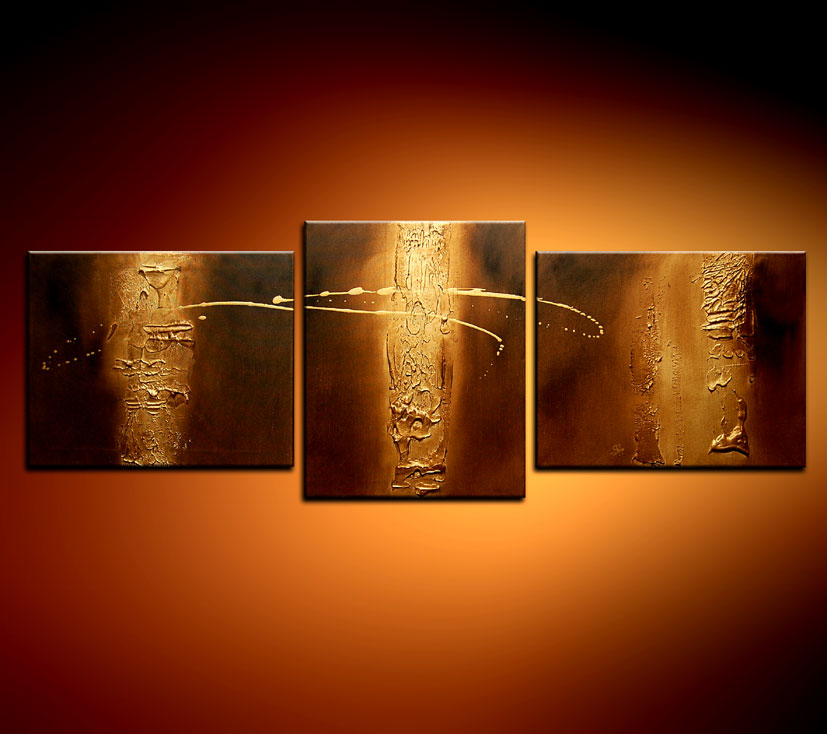 Modern Oil Paintings on canvas abstract painting -set08111