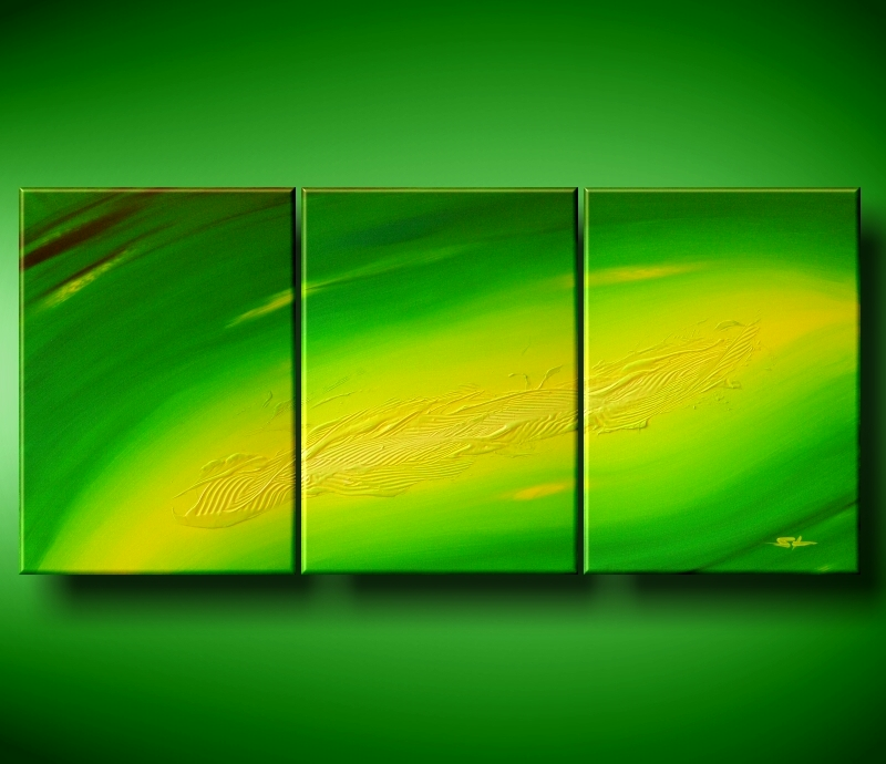Modern Oil Paintings on canvas abstract painting -set08115