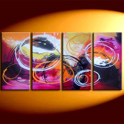 Modern Oil Paintings on canvas abstract painting -set08117