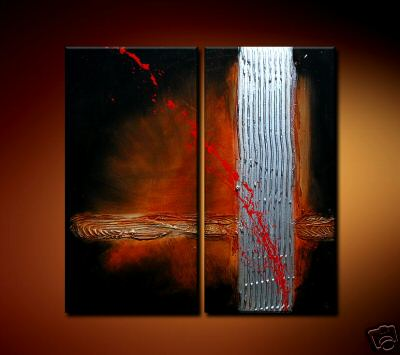 Modern Oil Paintings on canvas abstract painting -set08129