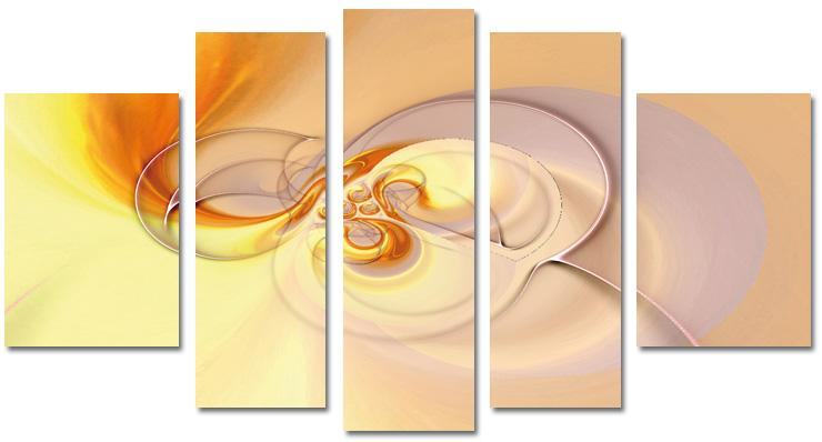 Modern Oil Paintings on canvas abstract painting -set08138