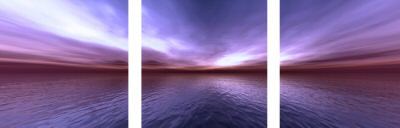 Modern Oil Paintings on canvas seascape painting -set08146