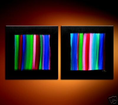 Modern Oil Paintings on canvas abstract painting -set08170