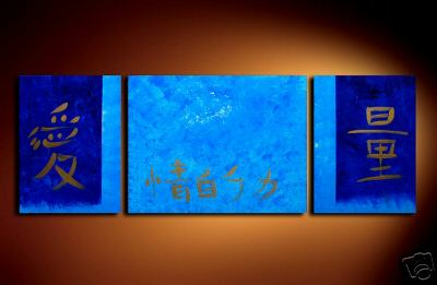 Modern Oil Paintings on canvas abstract painting -set08171
