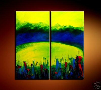 Modern Oil Paintings on canvas abstract painting -set08173