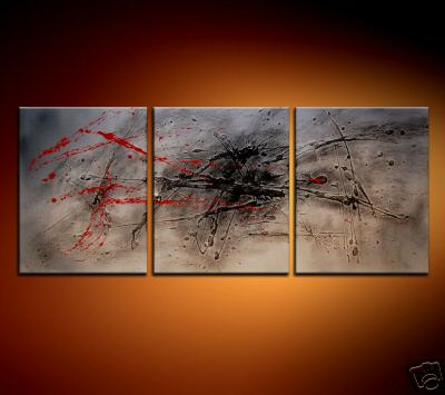 Modern Oil Paintings on canvas abstract painting -set08182