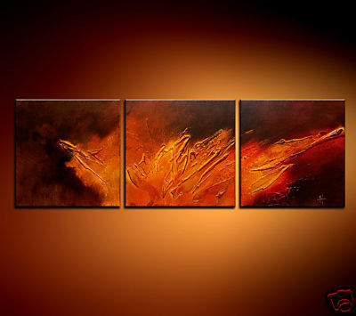 Modern Oil Paintings on canvas abstract painting -set08198