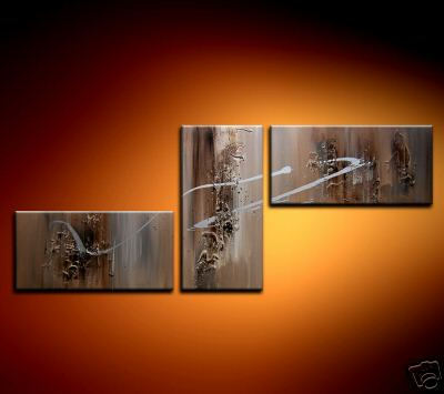 Modern Oil Paintings on canvas abstract painting -set08202
