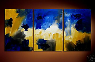 Modern Oil Paintings on canvas abstract painting -set08203