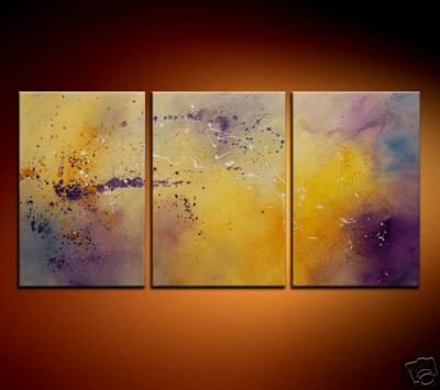 Modern Oil Paintings on canvas abstract painting -set08204