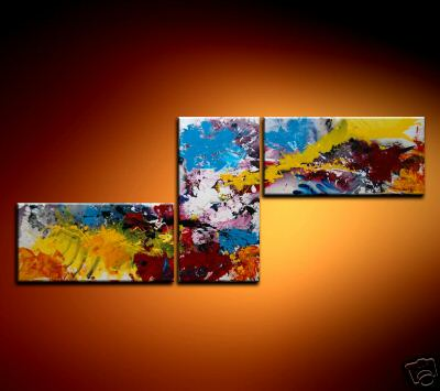 Modern Oil Paintings on canvas abstract painting -set08206