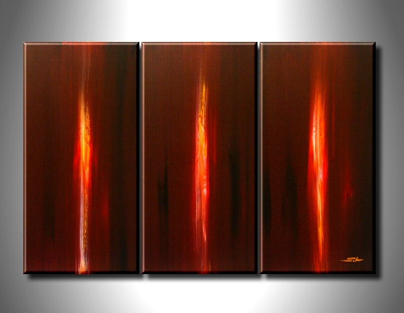 Modern Oil Paintings on canvas abstract painting -set08208