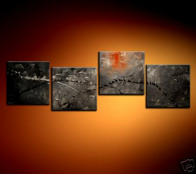 Modern Oil Paintings on canvas abstract painting -set08222