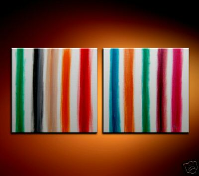 Modern Oil Paintings on canvas abstract painting -set08223
