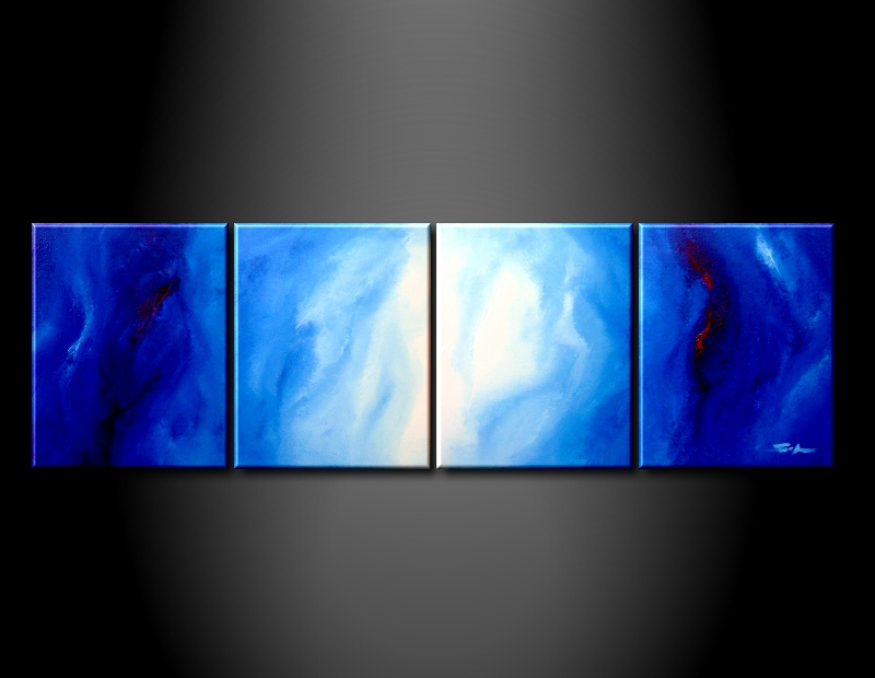 Modern Oil Paintings on canvas abstract painting -set09001