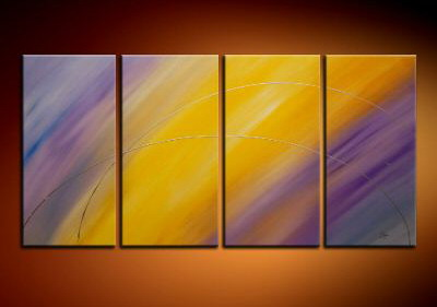 Modern Oil Paintings on canvas abstract painting -set09016