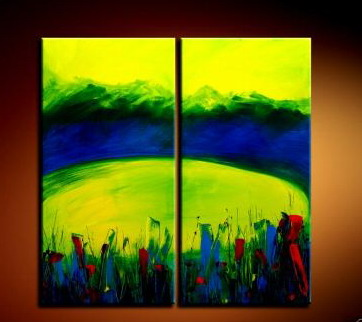 Modern Oil Paintings on canvas abstract painting -set09045