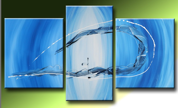 Modern Oil Paintings on canvas abstract painting -set09048