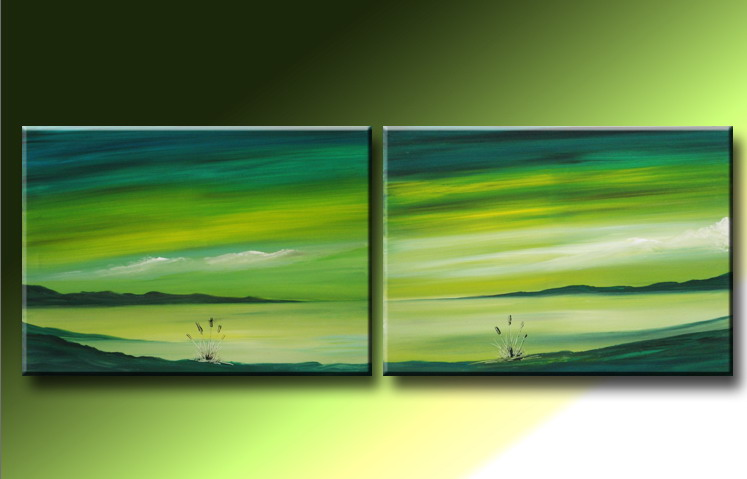 Modern Oil Paintings on canvas abstract painting -set09049
