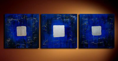 Modern Oil Paintings on canvas abstract painting -set09052