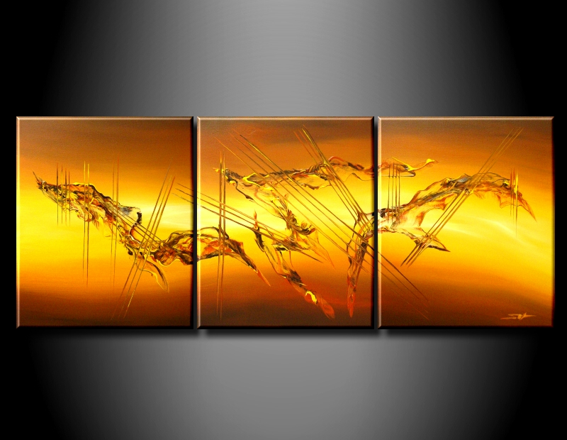 Modern Oil Paintings on canvas abstract painting -set09058