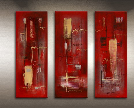 Modern Oil Paintings on canvas abstract painting -set09064