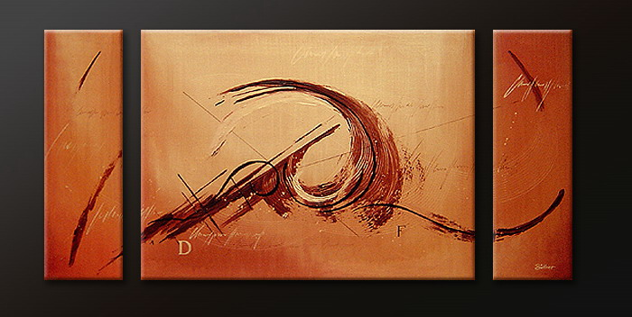 Modern Oil Paintings on canvas abstract painting -set09074