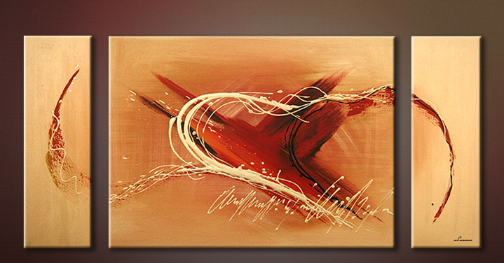 Modern Oil Paintings on canvas abstract painting -set09079