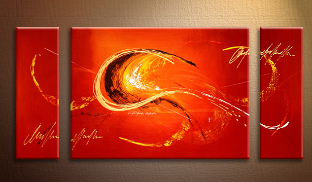 Modern Oil Paintings on canvas abstract painting -set09086