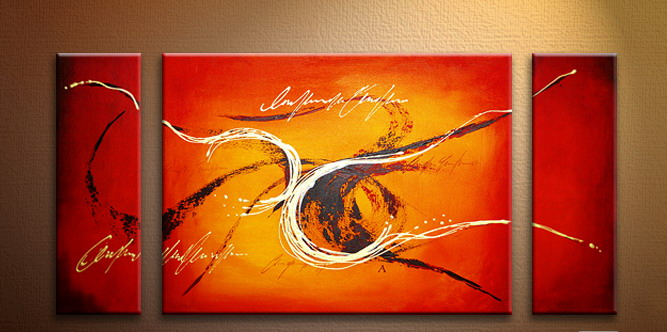 Modern Oil Paintings on canvas abstract painting -set09087