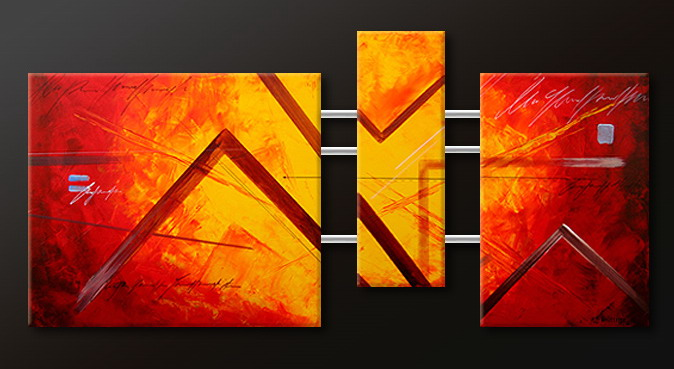 Modern Oil Paintings on canvas abstract painting -set09096