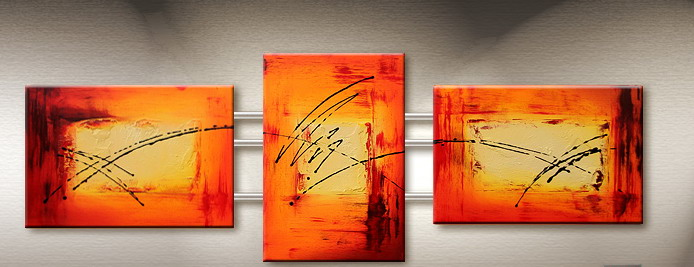 Modern Oil Paintings on canvas abstract painting -set09097