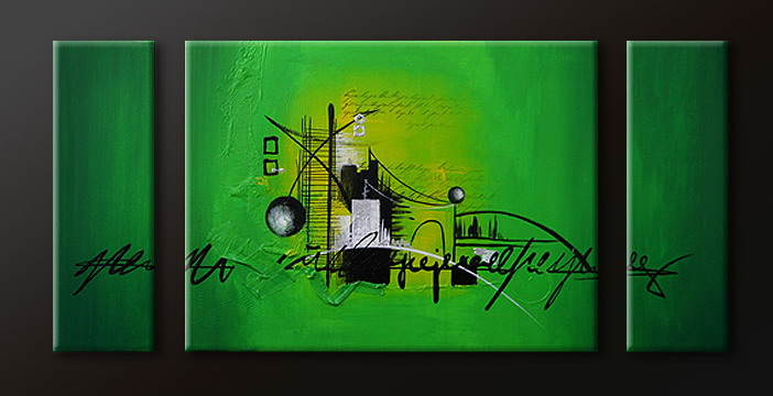 Modern Oil Paintings on canvas abstract painting -set09098