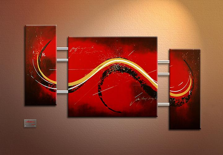Modern Oil Paintings on canvas abstract painting -set09100