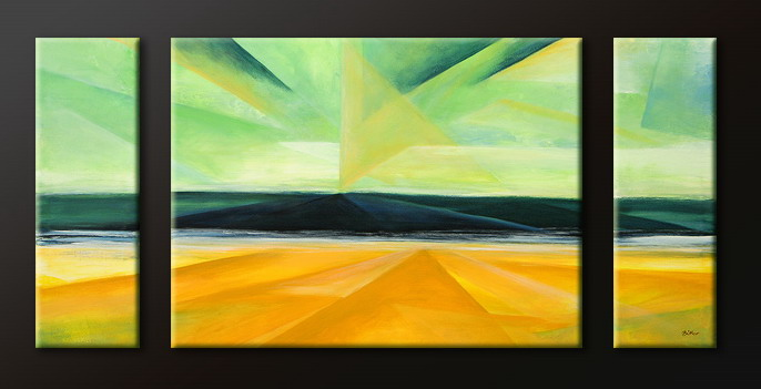Modern Oil Paintings on canvas abstract painting -set09101