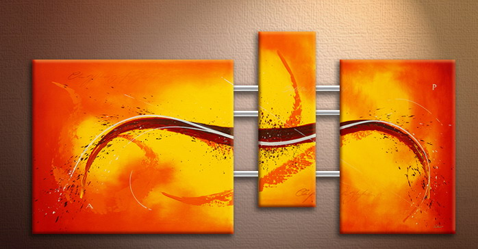 Modern Oil Paintings on canvas abstract painting -set09103