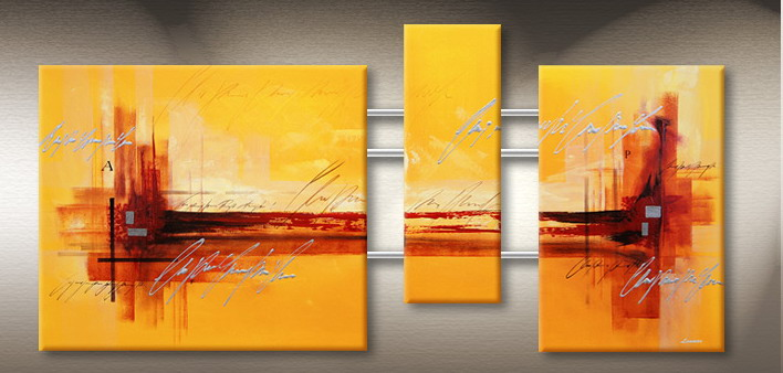 Modern Oil Paintings on canvas abstract painting -set09106