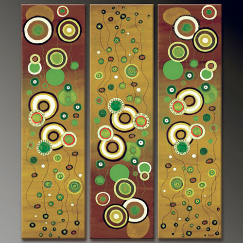 Modern Oil Paintings on canvas abstract painting -set09126