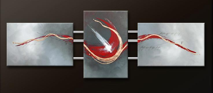 Modern Oil Paintings on canvas abstract painting -set09132