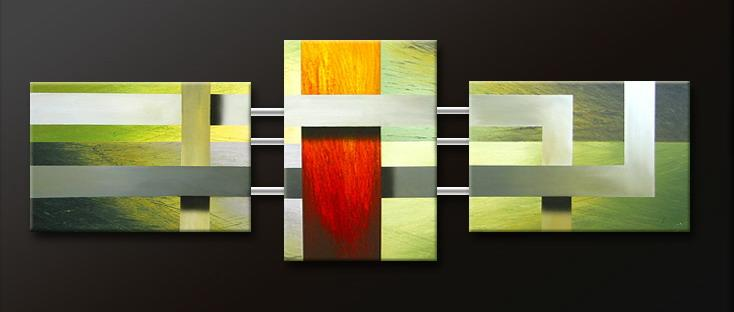 Modern Oil Paintings on canvas abstract painting -set09156