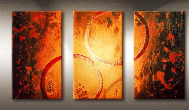 Modern Oil Paintings on canvas abstract painting -set09166