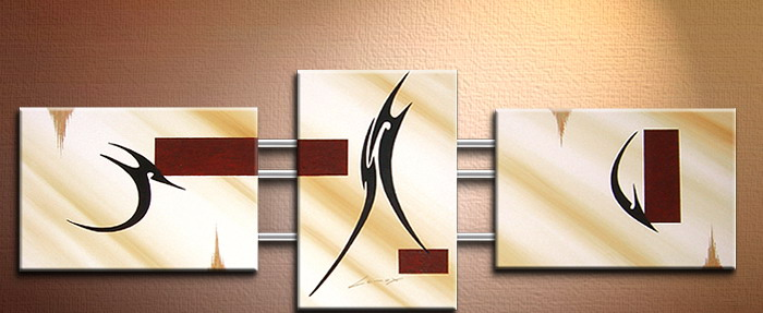 Modern Oil Paintings on canvas abstract painting -set09172