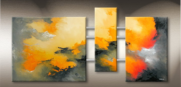 Modern Oil Paintings on canvas abstract painting -set09188