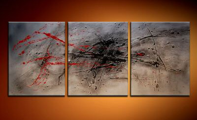 Modern Oil Paintings on canvas abstract painting -set09206