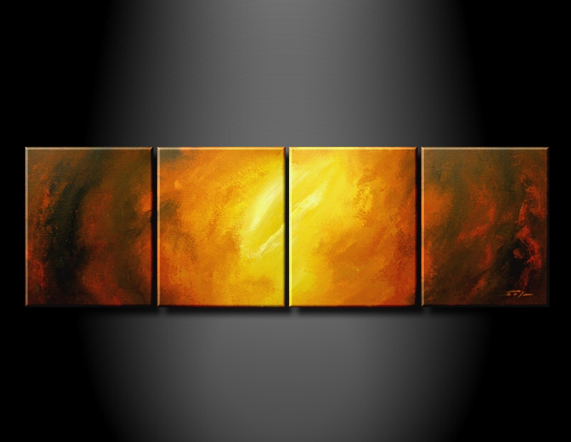 Modern Oil Paintings on canvas abstract painting -set09207