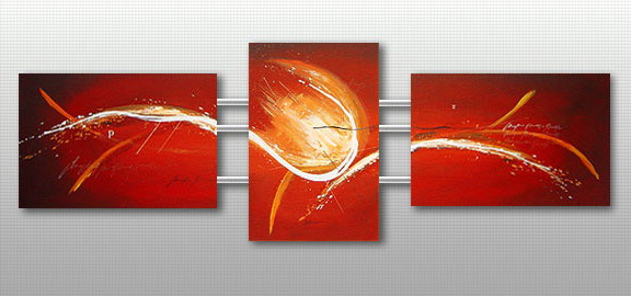 Modern Oil Paintings on canvas abstract painting -set09215