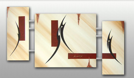 Modern Oil Paintings on canvas abstract painting -set09216
