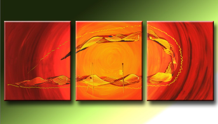 Modern Oil Paintings on canvas abstract painting -set09219